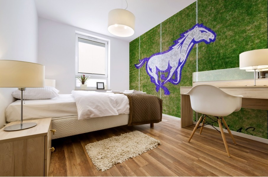 North Little Rock, AR | CAC Mustang Mural print