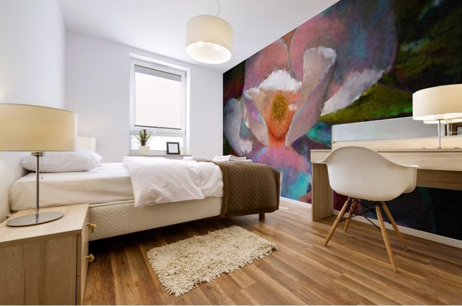 Magnolia Grandiflora Impression Mural print
