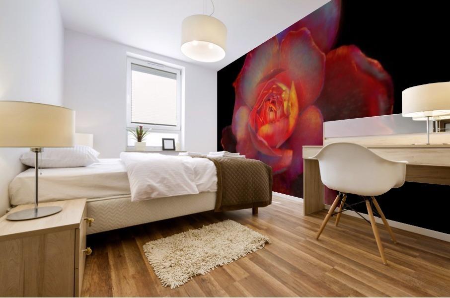 Gilded Rose Mural print
