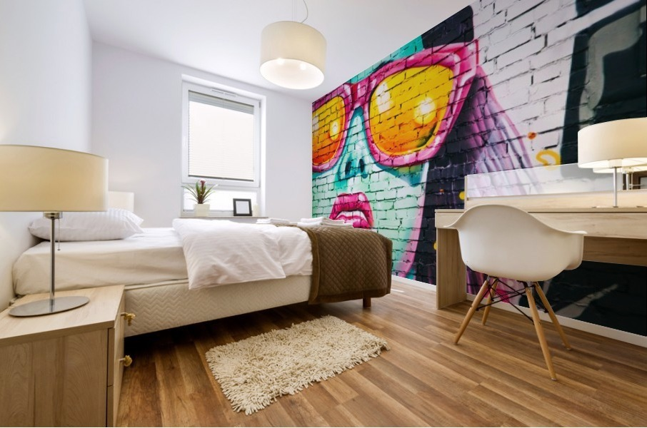 graffiti wall Mural print