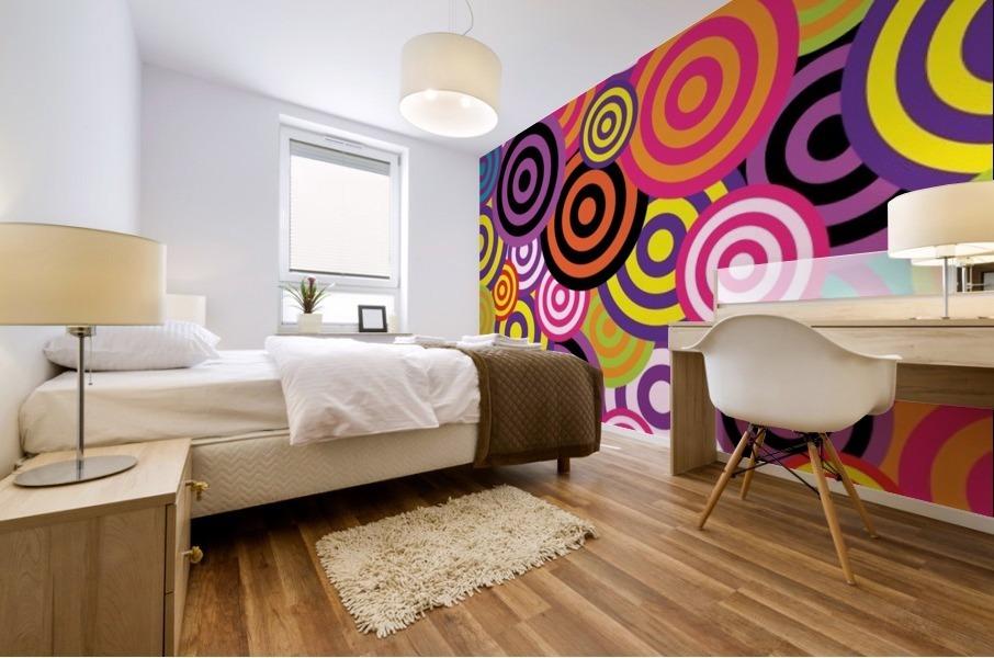abstract Mural print