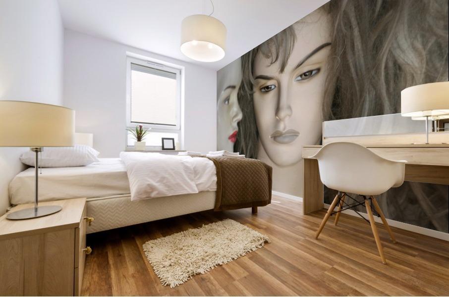 Mannequin Dreams Mural print