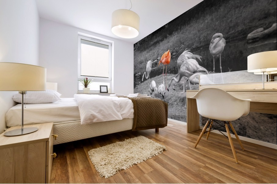 Stand Out Mural print