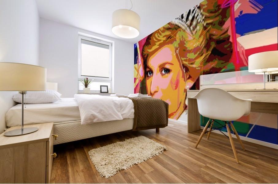 Diana X  Mural print