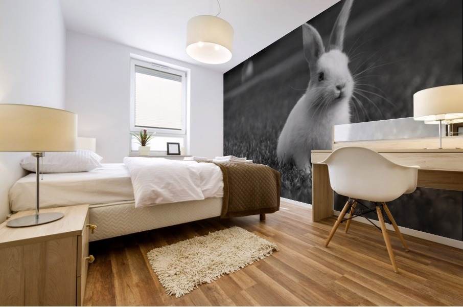 Lovely Rabbit Mural print