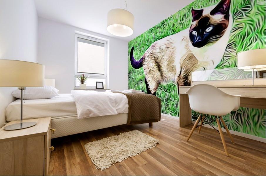 CAT3 Mural print