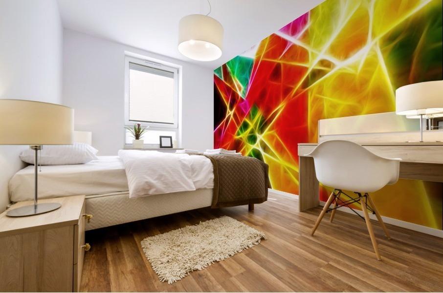 Geometric Colors Mural print
