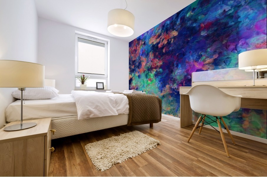 Abstract Colors Mural print