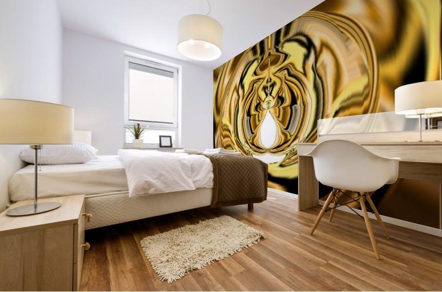 GoldTone3 Mural print
