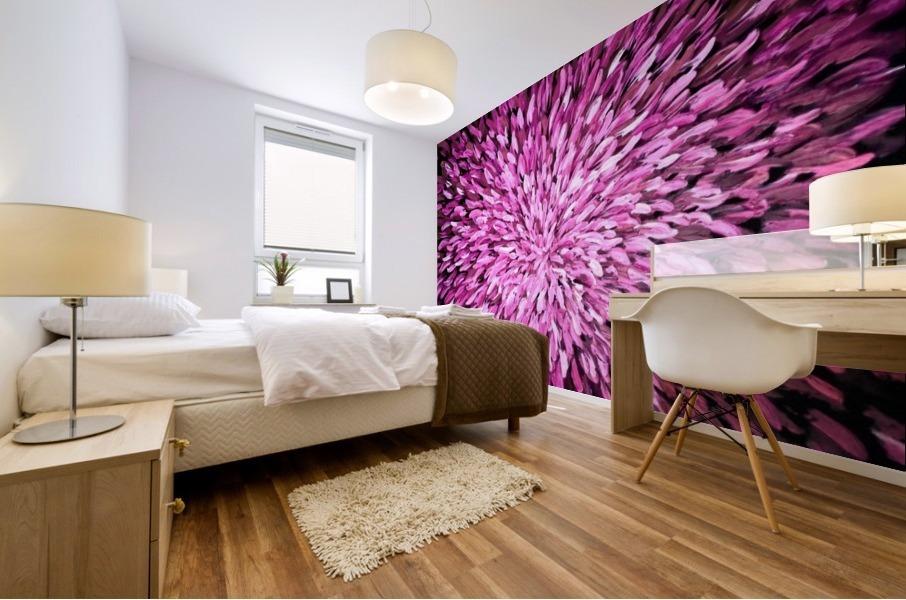 Purple Mural print