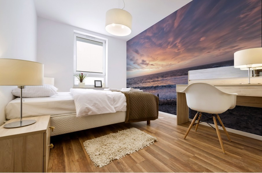 Seaside Sunset Mural print