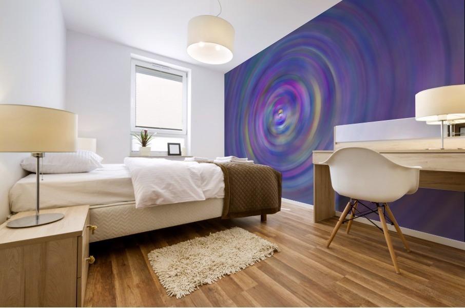 swirl color Mural print