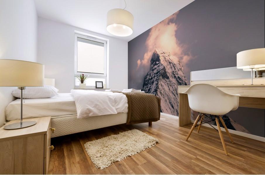 Matterhorn Glow Mural print