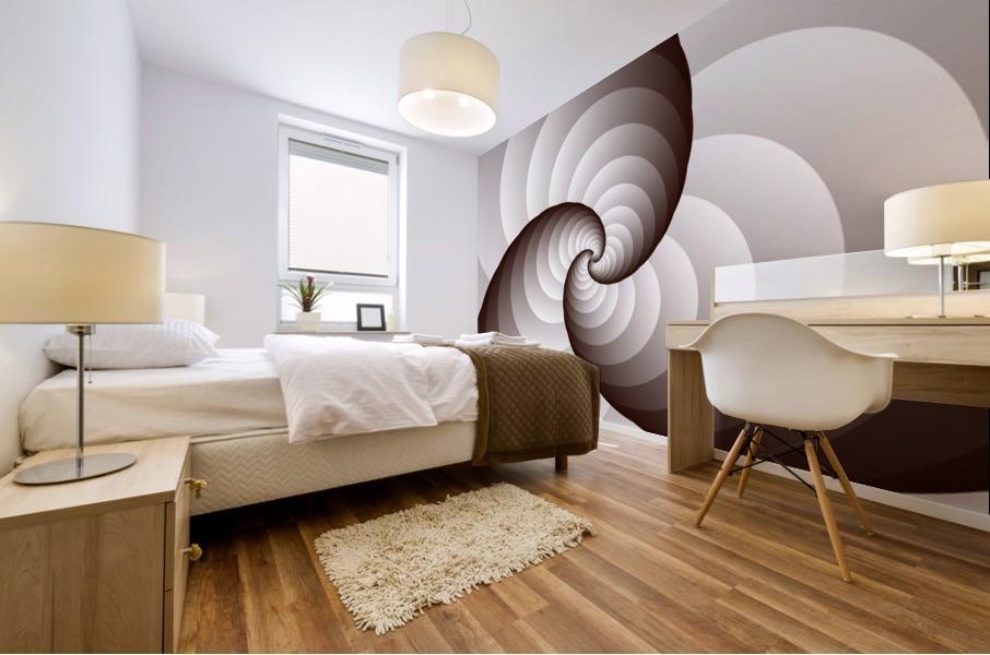 Spirally Mural print