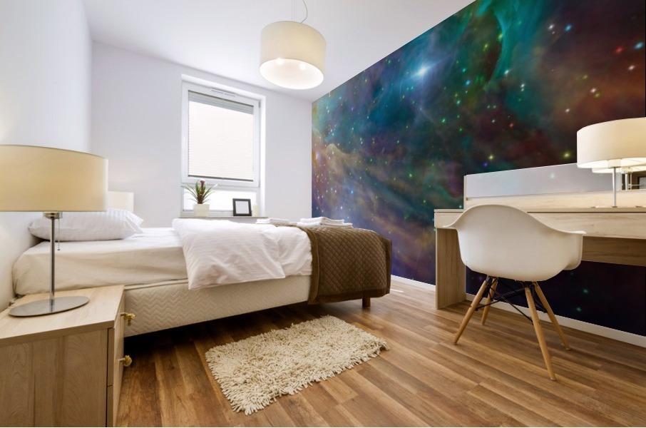 Deep Space Mural print