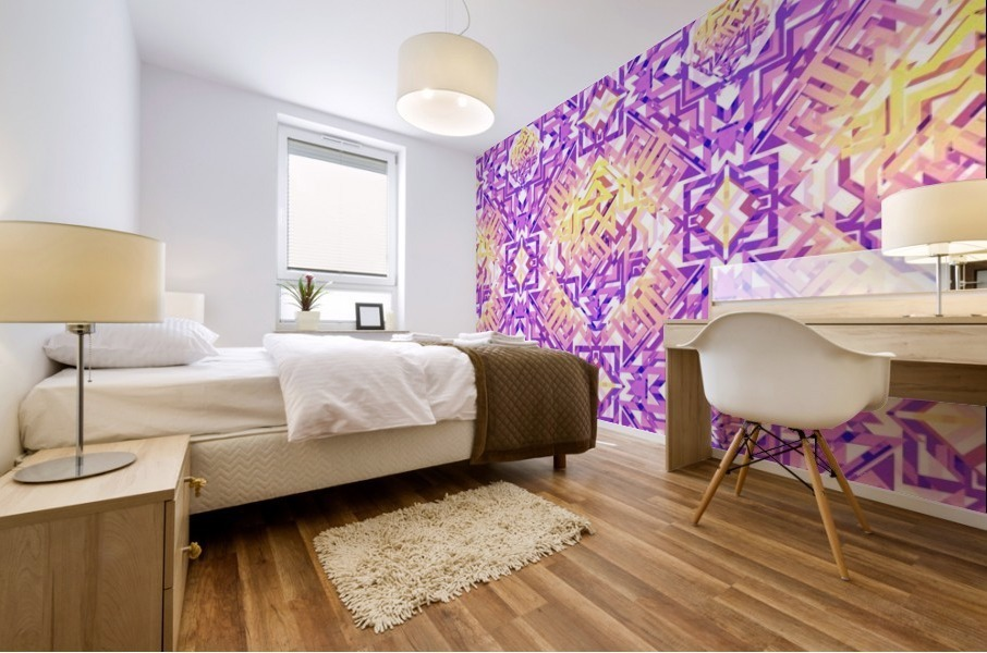 Abstract Pattern Mural print