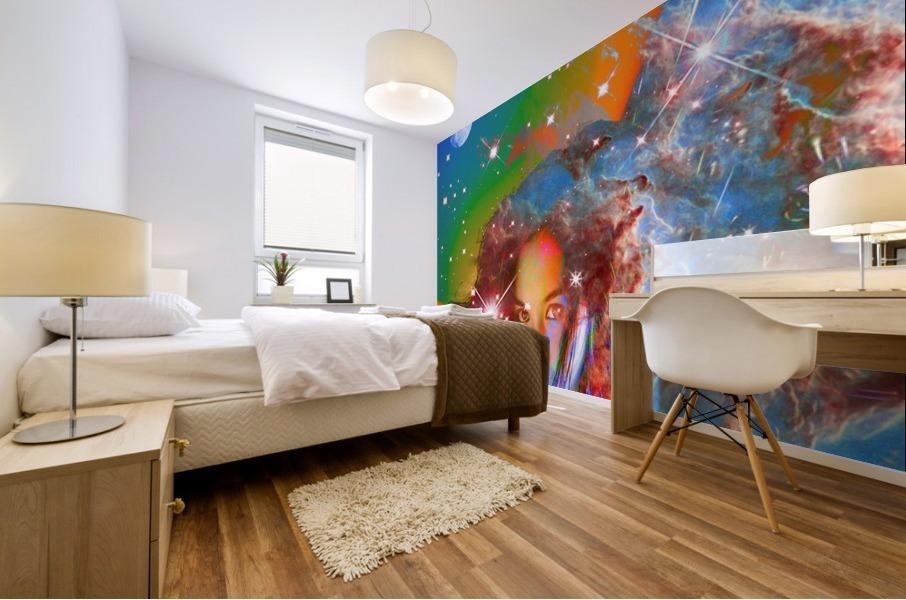 Cosmic Dream Mural print