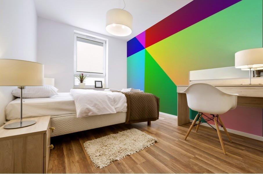Spectrum Mural print
