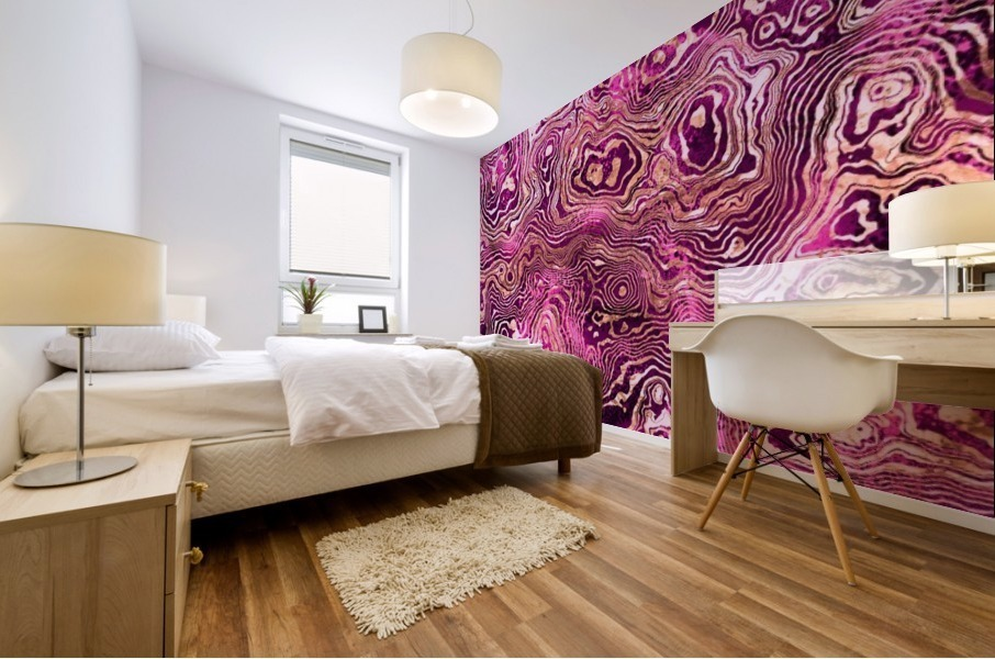 Abstract Marble II Mural print