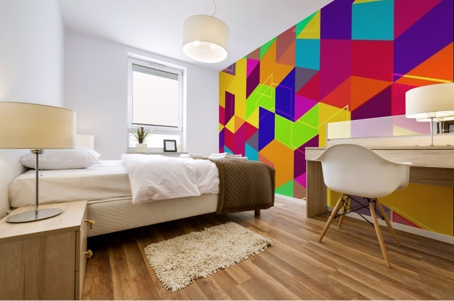 Vivid Pattern I Mural print