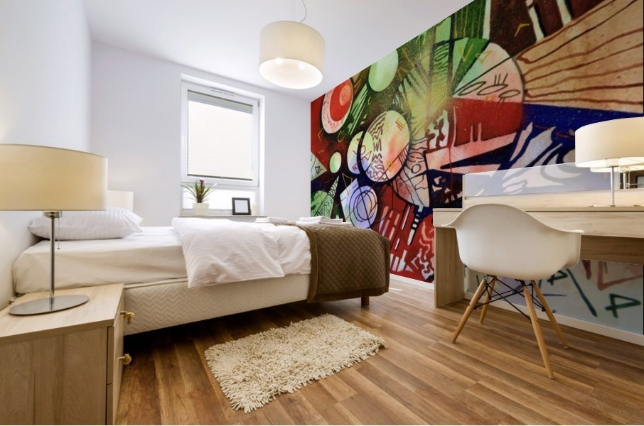 Abstraction Mural print
