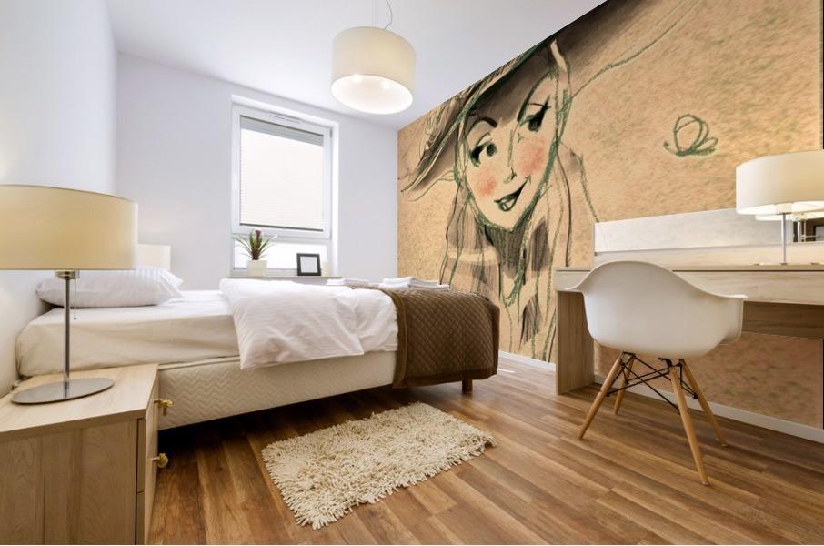 Madame Mural print