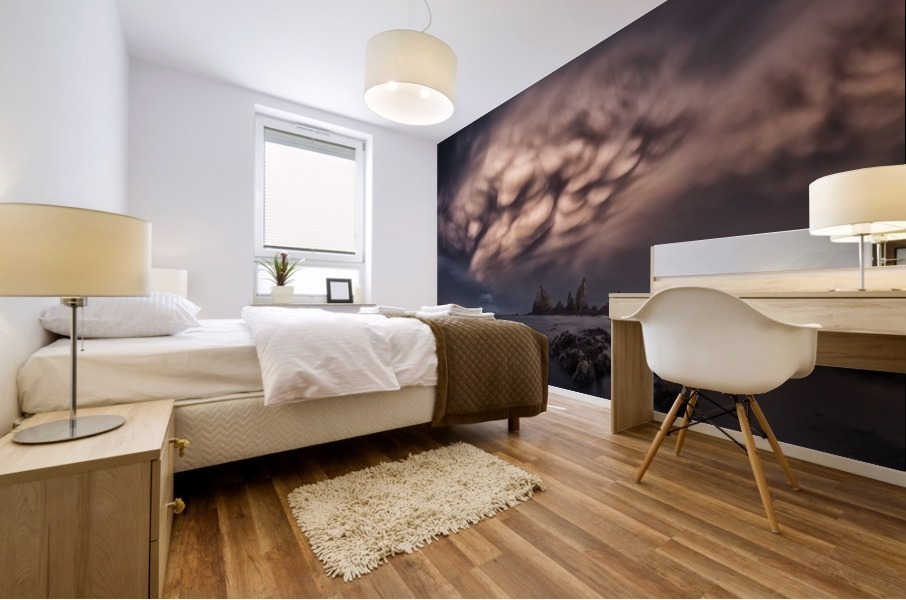 The Cloud Mural print