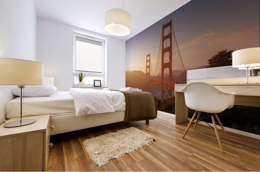 South Golden Gate. Mural print