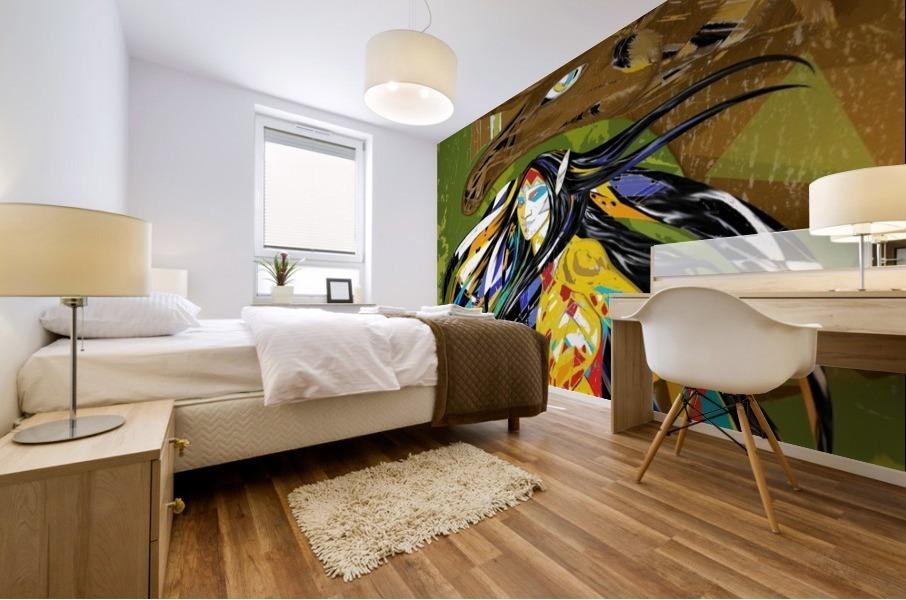 Orignal_Moz_Anik_ Lafreniere Mural print