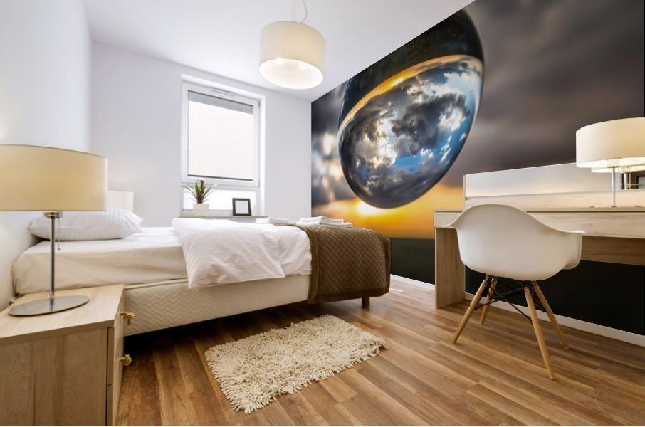 Lens Ball3 Mural print