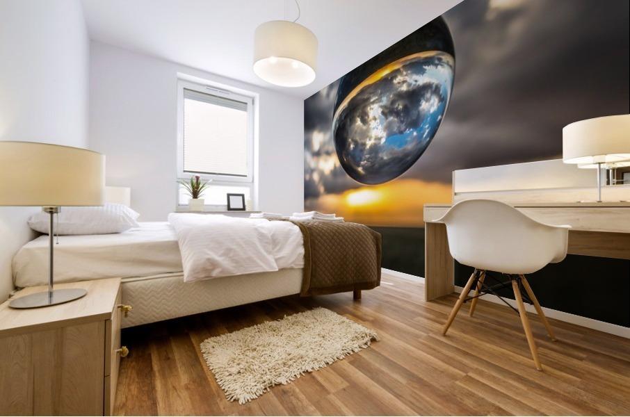 Lens Ball2 Mural print