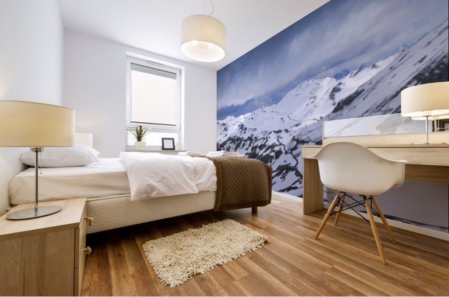 Grossglockner High Alpine Road Mural print