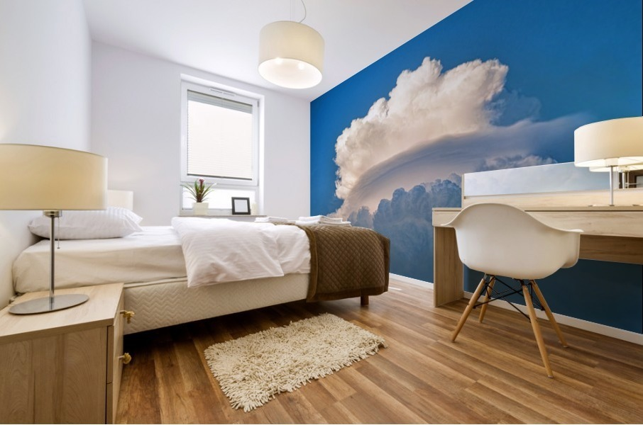 Atomic Cloud Mural print