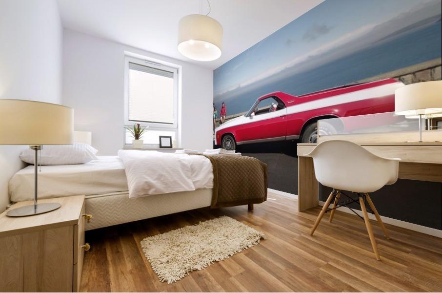 GMC Sprint Utility Pickup coupe combo Impression murale