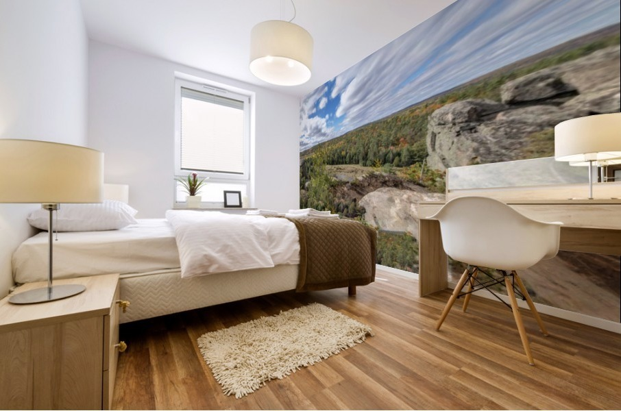 Eagles  Nest Panorama 3a Mural print