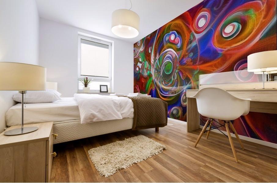 Vortex of Colors Mural print