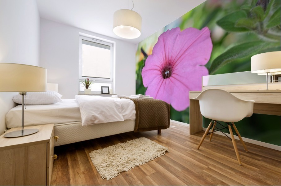 Pink Flower Photography Mural print
