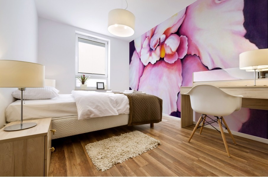 THE ORCHID Mural print