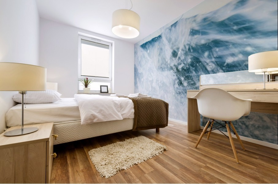 THE WAVE Mural print