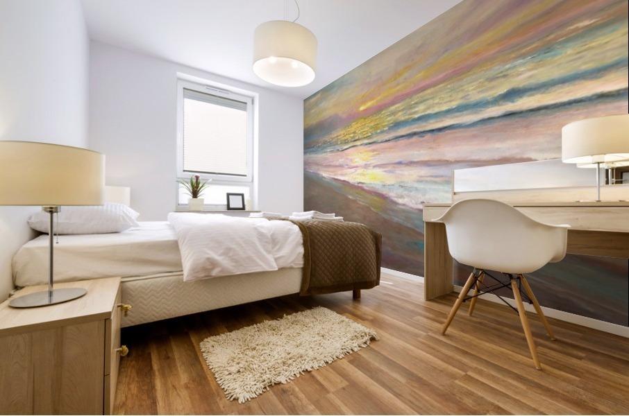 Pastel Morning Light  Mural print