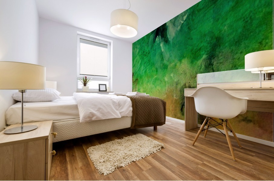 Forest Mountains Mural print