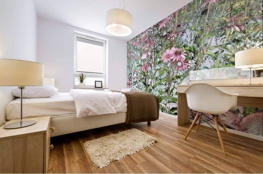 Echinacea Mural print