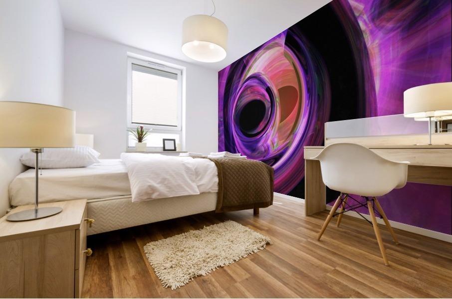 Abstract rendered artwork 3 Mural print