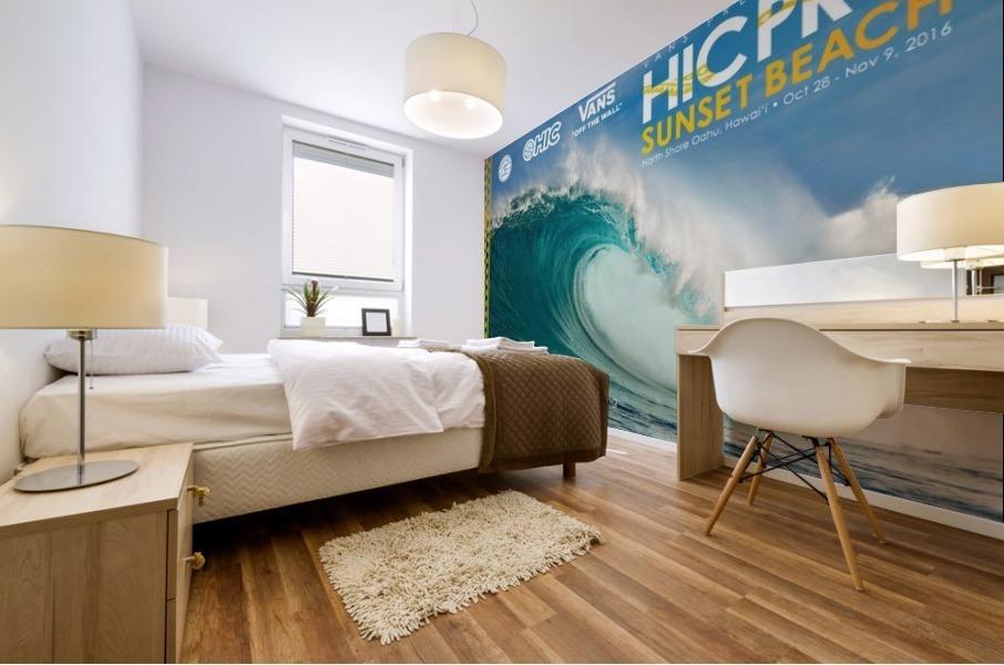 2016 VANS HIC PRO SUNSET BEACH Competition Print Mural print