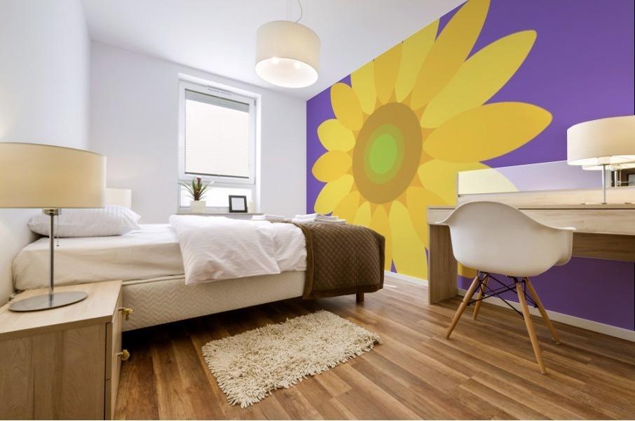 Sunflower (12) Mural print