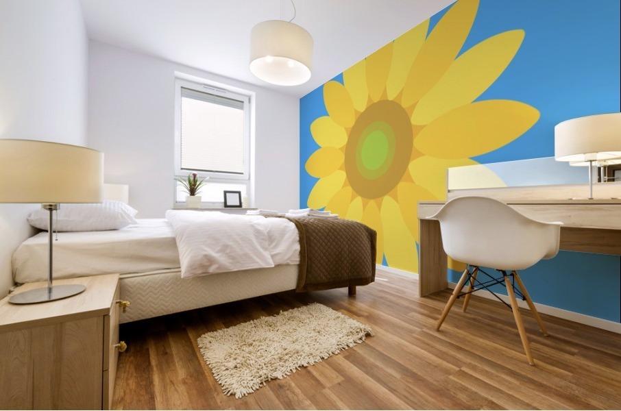 Sunflower (13) Mural print