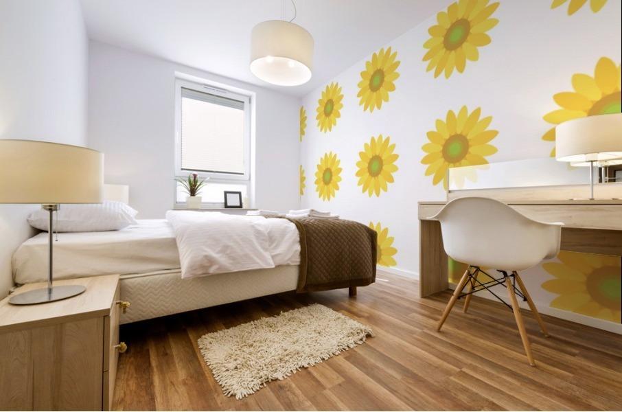 Sunflower (4)_1559876456.7576 Mural print