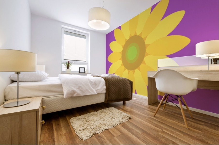 Sunflower (11)_1559876665.8187 Mural print