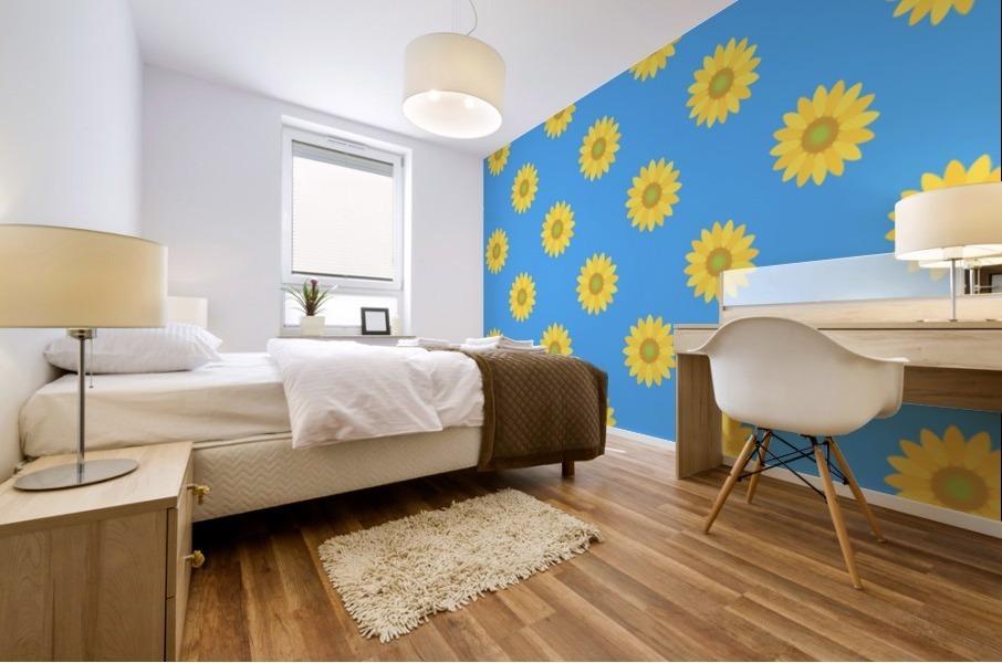 Sunflower (36)_1559876661.0675 Mural print