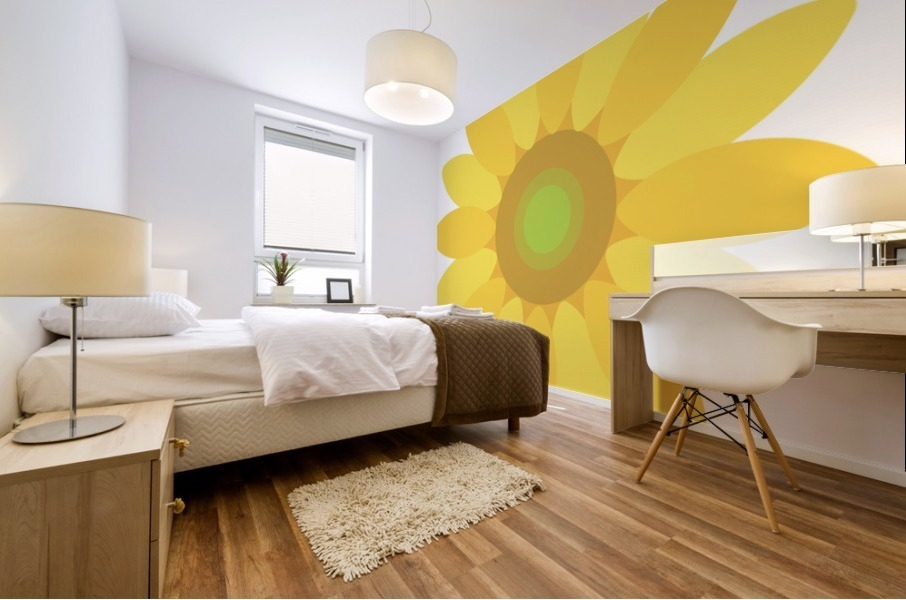 Sunflower (8)_1559876666.5423 Mural print